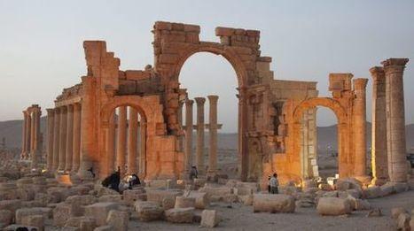 La romántica ciudad de las columnas rosadas al alba | Mundo Clásico | Scoop.it