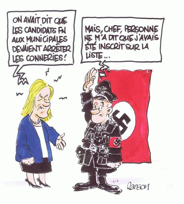 Le FN et ses candidats aux municipales | Baie d'humour | Scoop.it