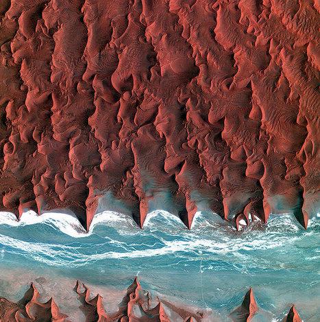 18 paysages saisissants pris depuis l'espace qui prouvent que la Terre est une splendide oeuvre d'art | Scoop Photography | Scoop.it