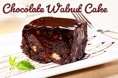 Impressive Chocolate Walnut Cake | Best Easy Recipes | Scoop.it