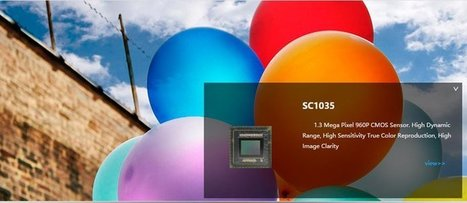 SmartSens SC1135 1.3MP CMOS Image Sensor | Intrusion & security information | Scoop.it
