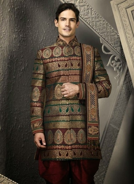 SHERWANI FOR MEN BY ALI ZESHAN 2015 | Style360fashion | clothing and fashion new designs | Scoop.it