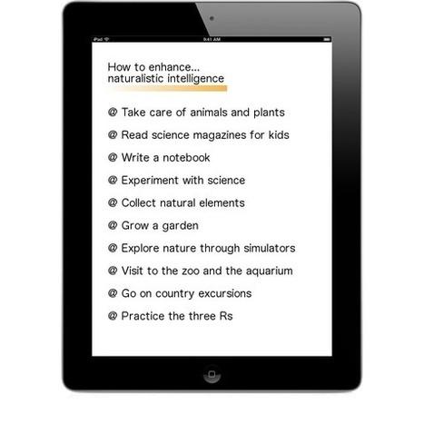 Inteligencias múltiples y iPad: naturalista | Recursos interessants | Scoop.it