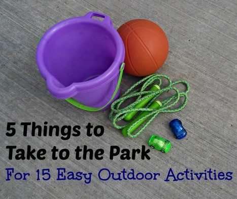 5 Things to Take to the Park for Easy Outdoor Activities   Boxkarts   Scoop.it
