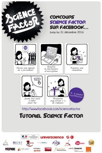 Concours Science Factor 11/17 ans   Science Factor 2014-2016   Scoop.it