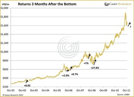 Pullbacks in Perspective - Casey Research #Gold #Silver   Commodities, Resource and Freedom   Scoop.it