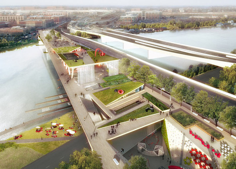 OMA and Olin win competition to design garden bridge for Washington DC | Urbanisme | Scoop.it