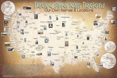Native Cartographer Creates Map of Pre-Contact Turtle Island | AboriginalLinks LiensAutochtones | Scoop.it