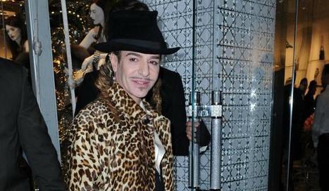 John Galliano de retour à Londres mais snobé par la haute couture parisienne | INTERSTYLEPARIS  Fashion News | Scoop.it