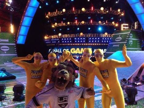 Bailey wins Most Awesome Mascot award — LA Kings Insider | Mascots in the news | Scoop.it