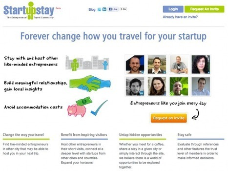 A new way to stay: Startup Stay connects galavanting entrepreneurs together with locals | Tnooz | Online Travel, MICE 2.0, Tourism 2.0, Hospitality 2.0, Destinations 2.0 and Events 2.0 | Scoop.it