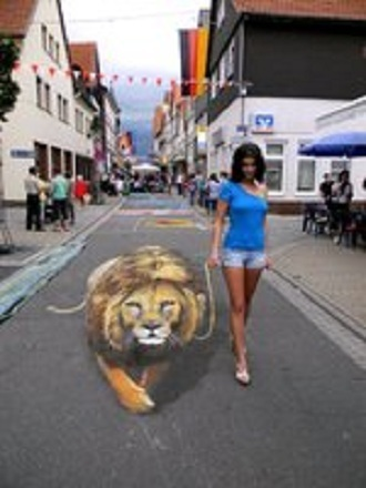 Awakenings: Real or Art? 3-D   Road Tripping   Scoop.it