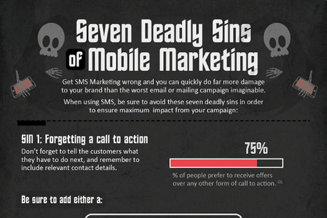 7 Mobile Marketing Sins to Avoid - BrandonGaille.com | Digital-News on Scoop.it today | Scoop.it