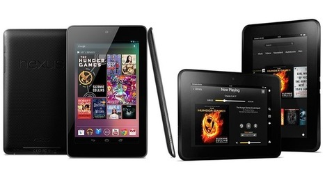 Comparing the Nexus 7 to the Kindle Fire HD | IP Communications & VoIP | Scoop.it