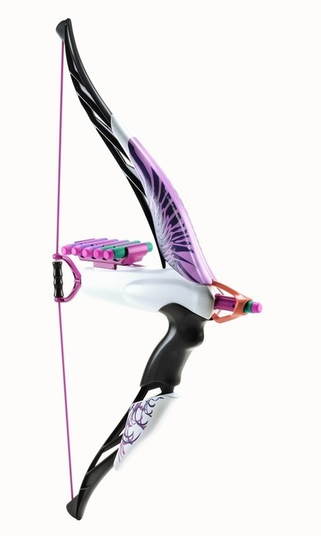 Nerf for girls? Hasbro planning pink 'Heartbreaker' bow | It's Show Prep for Radio | Scoop.it