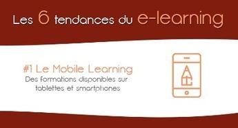 [#Infographie] Les 6 tendances à venir du e-learning en 2016 | Social media | Scoop.it