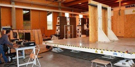 Séismes : comment la construction bois fait de la résistance | Ameublement | Scoop.it