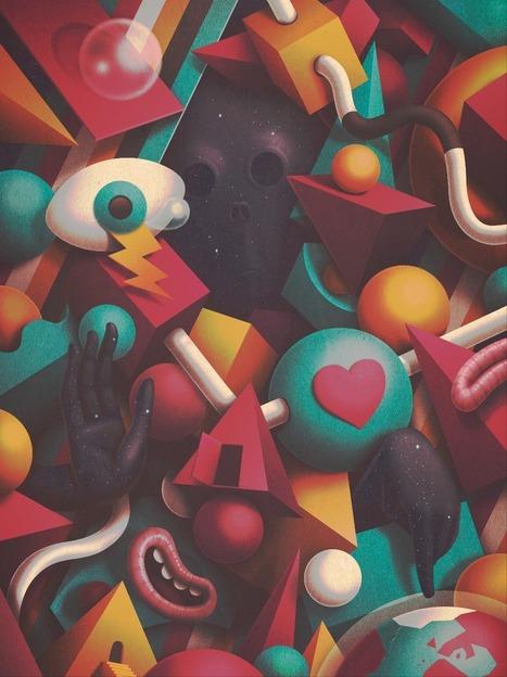 L'univers étrange et attachant de Juan Carlos Paz, aka BAKEA | El Mundo del Diseño Gráfico | Scoop.it