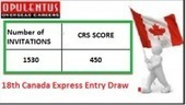 CIC Conducts 18th Express Entry Draw, Issues 1530 Invites | Opulentus - Immigration and Visa Specialist | Scoop.it