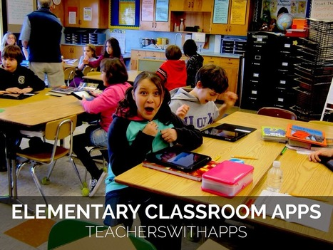 TeachersWithApps - 50+ Favorite Elementary School Apps | ipads in education | Scoop.it