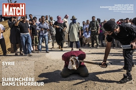 """Montrer l'insoutenable"": ""Paris Match"" et le magazine ""Time"" publient des photos choc de la Syrie 