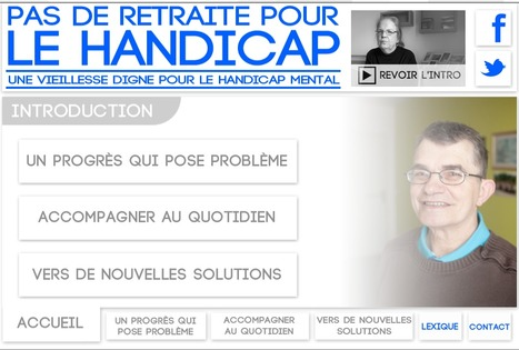 Webdocumentaire : Pas de retraite pour le handicap | Interactive & Immersive Journalism | Scoop.it