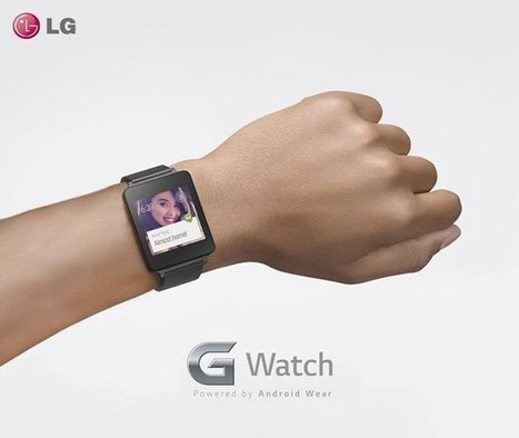 Here's what the LG G Watch looks like: | That Android Guy - Everything on the planet about Android and Google | Scoop.it