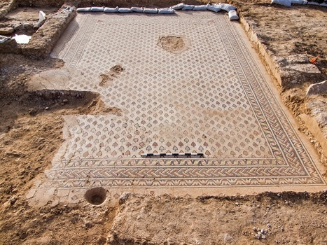 Byzantine Monastery mosaic floor discovered in Hura - News in Conservation, Issue 41 | News in Conservation | Scoop.it