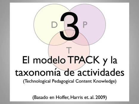 Modelo TPACK | Modelo TPACK y competencias Tic | Scoop.it