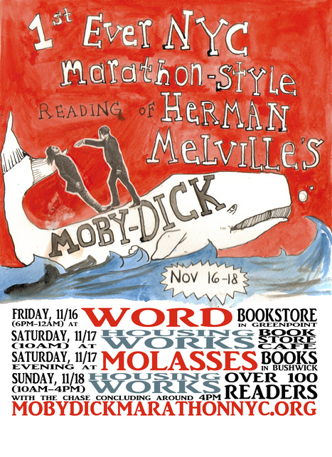 Moby-Dick Marathon NYC: Where to go before and after | memory | Scoop.it