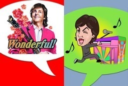 Paul McCartney celebrates popularity on Line by selling 'sound stickers' to fans | Musicbiz | Scoop.it