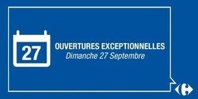 Lancement du mois #Carrefour : 56 hypers seront ouverts ce dimanche. #lavieducarrelage | TRADCONSULTING 4 YOU | Scoop.it