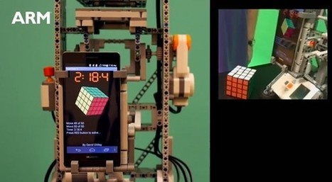 Huawei Ascend P6 solves 4 x 4 Rubik's Cube in 50 moves, considers meaning ... - Engadget | Lego Mindstorms | Scoop.it