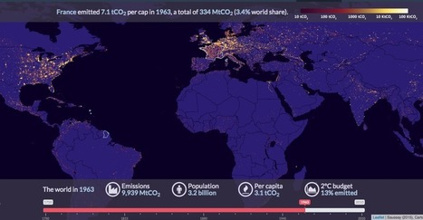 Mapping 260 Years of Global Carbon Emissions | GLOBAL GLEANINGS: Culling Content on Global Education, Diversity, Sustainability, and Service. | Scoop.it