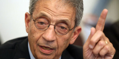 Amr Moussa a salué la décision de Sabbahi de se porter candidat à l'élection présidentielle | Égypt-actus | Scoop.it