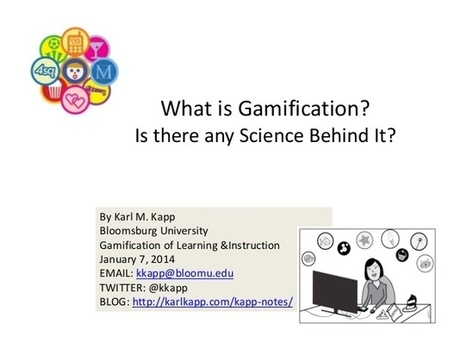 What is #Gamification? | (I+D)+(i+c): Gamification, Game-Based Learning (GBL) | Scoop.it