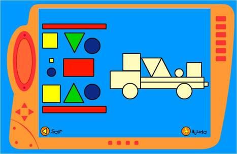 Composições com Figuras Geométricas - Site Junior | Jogos n@ Pré | Scoop.it