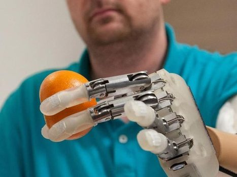 Lifehand enables amputee to grasp objects and feel - Popular Mechanics | Brain Engineering | Scoop.it