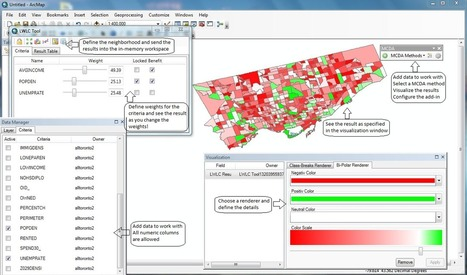 #ArcGIS Add-in - Análise Multi-Critéria | maisGEO | Scoop.it