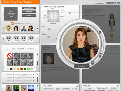 Avatares en 3D con Oddcast Photoface | Herramientas digitales | Scoop.it