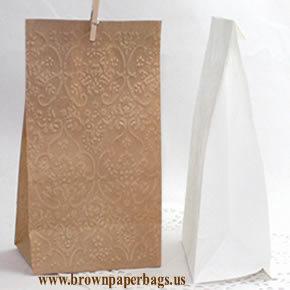 Small white paper bags | Kraft Brown paper bags | Scoop.it