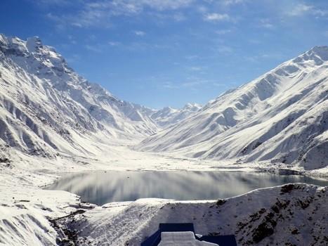 Saif ul Malook after recent Snowfall   lake saif ul malook   Scoop.it