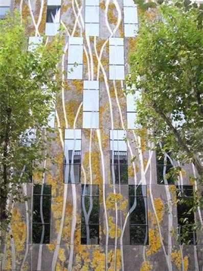 Fachadas vivas de hormigón, edificios de colores | Seguridad Laboral  y Medioambiente Sustentables | Scoop.it