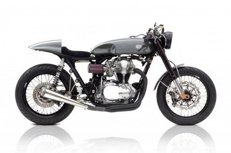 Custom / Moto Grigio / Deus Ex Machina | Cafe Racers | Scoop.it