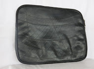 Recycled Inner Tube Laptop Bag, ethically handmade by home based workers | Recycled Inner Tube Products | Scoop.it