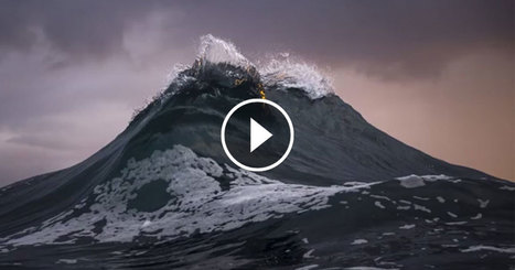 Ces eaux tumultueuses donnent naissance à des vagues qui prennent des allures de montagnes | Biodiversité | Scoop.it