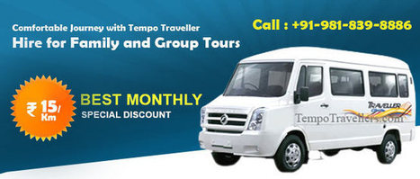 Tempo traveller per km rate in delhi | Tempo Traveller on Rent | Scoop.it
