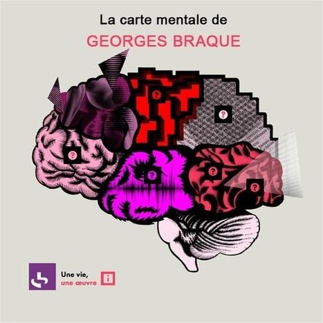 Une vie une oeuvre : Carte mentale de Georges Braque by franceculture | Cartes mentales | Scoop.it
