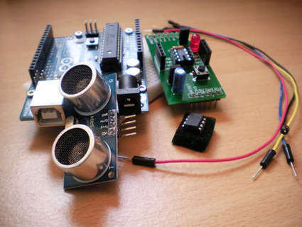Ultrasonic Range Finder with an ATtiny85 | Arduino Focus | Scoop.it