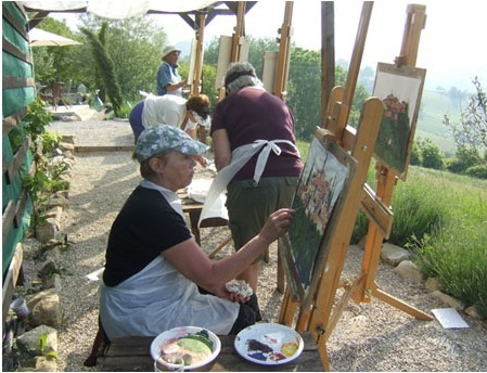 Painting holidays and Art Workshops in Italy at The Retreat | Le Marche another Italy | Scoop.it